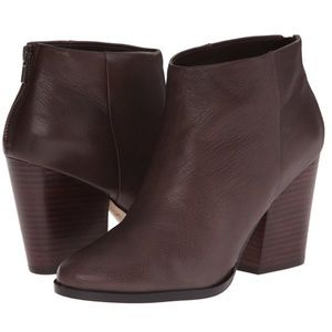 Cole Haan Dey Ankle Heeled Boots Chestnut Brown